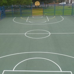 Tarmacadam Multi Use Games Area in Arlescote 9