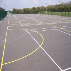 Tarmacadam Multi Use Games Area in Arlescote 3