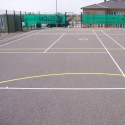 Tarmacadam Multi Use Games Area in Arlescote 1