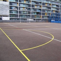 Tarmacadam Multi Use Games Area in Arlescote 4