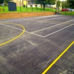 Tarmacadam Multi Use Games Area in Ardley 2