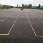 Tarmacadam Multi Use Games Area in Arlescote 10