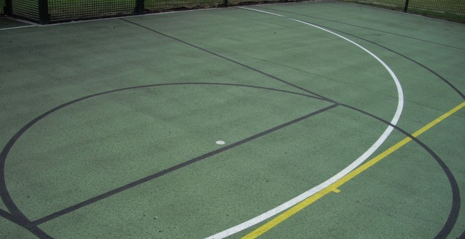 Tarmacadam MUGA Pitch in Ashford Common