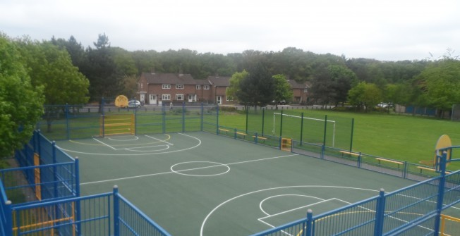 Macadam Sports Surfaces in Ashford Common