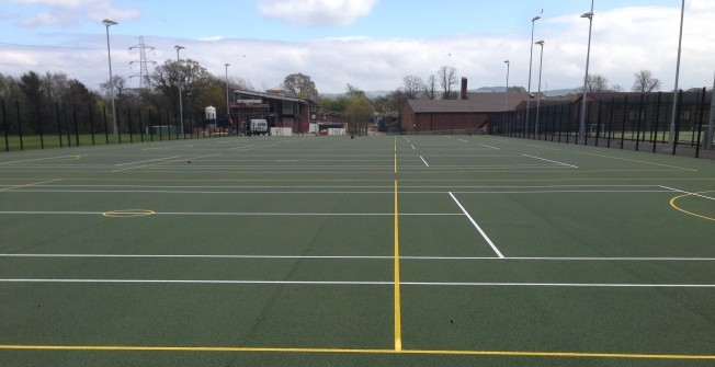 Tarmac MUGA Courts in Ashford Common